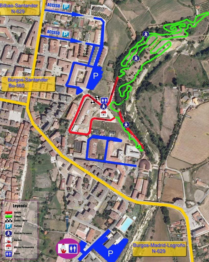 Circuito ciclocross Medina